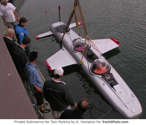 maltese falcon submarine Maltese Falcon: Third Largest Sailing Yacht in the World