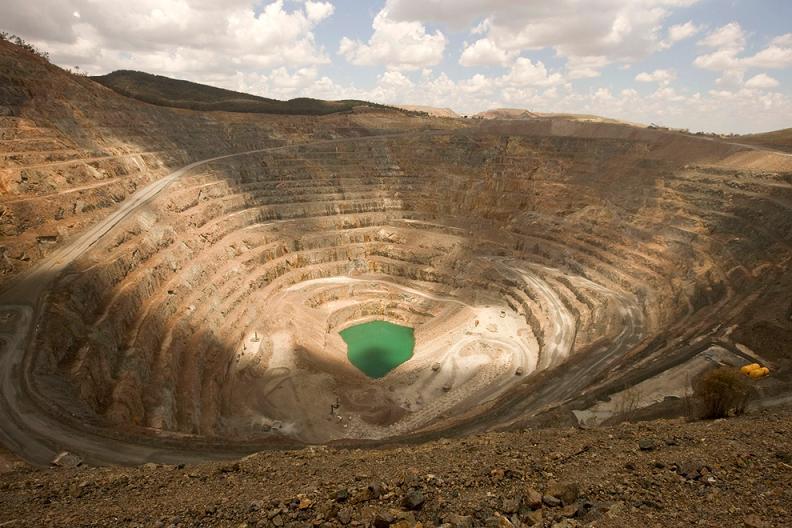 massive gold copper cadia mine in austrailia Picture of the Day   January 26, 2010