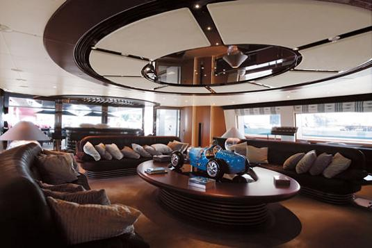 nicest boat ever inteiror Maltese Falcon: Third Largest Sailing Yacht in the World