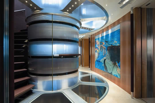 nicest boat interior yacht Maltese Falcon: Third Largest Sailing Yacht in the World