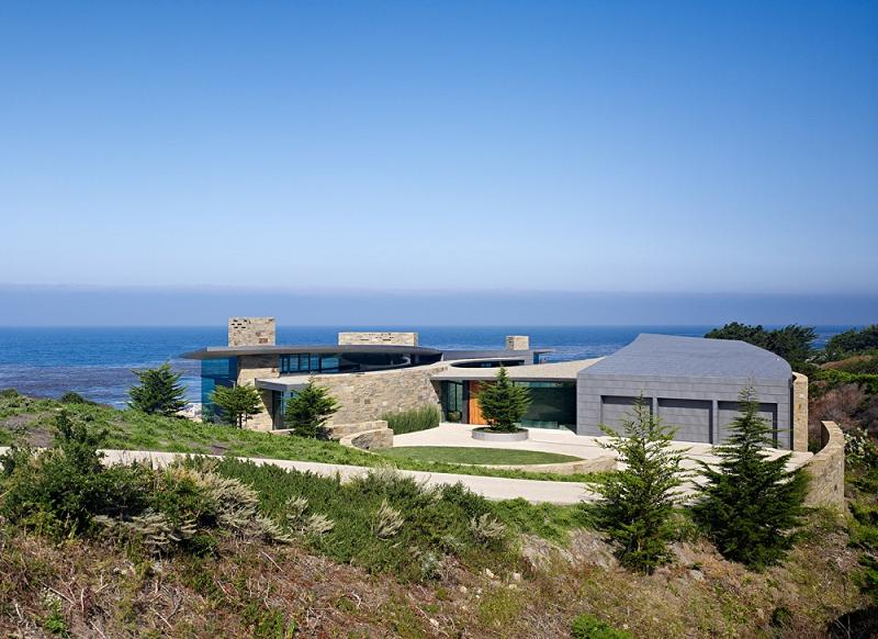 otter cove residence carmel california sagan piechota An Ocean of Emotion: The View from Otter Cove