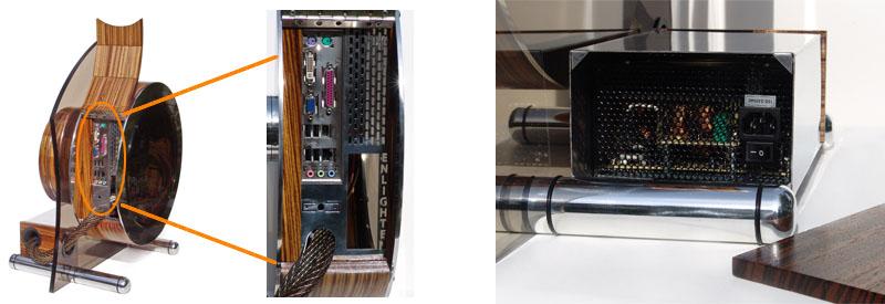 suissa enlighten pc glass wood custom casing Stunning PC Case: Wood and Glass Beats Plastic Ass