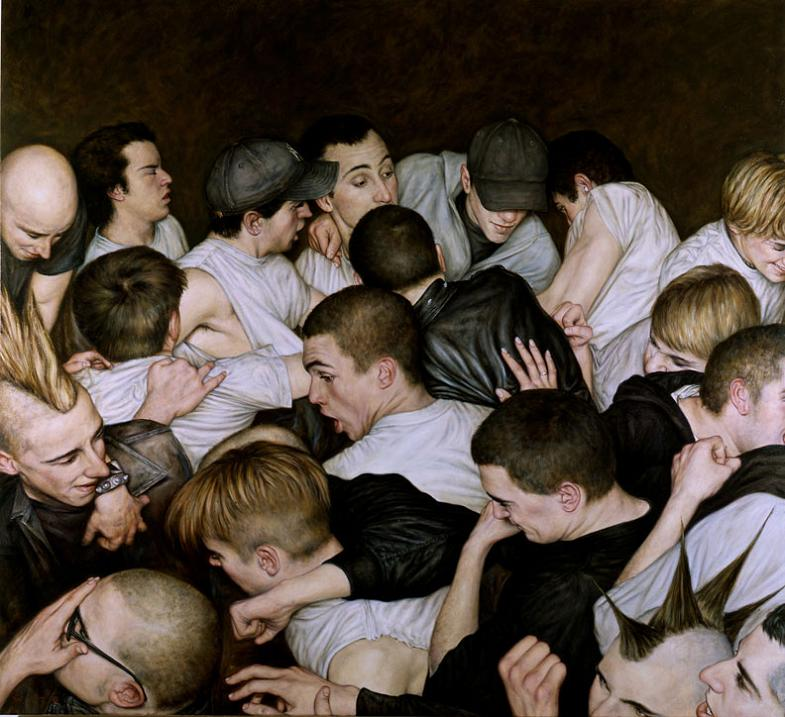 the mosh pit art dan witz Picture of the Day   January 17, 2010