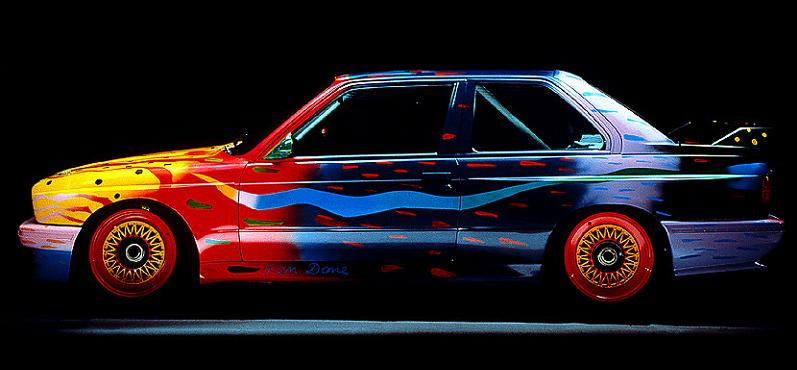 bmw art car ken done 1989 The Evolution of the BMW Art Car