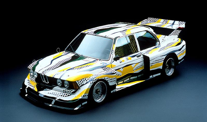 bmw art car roy lichtenstein 1977 Decorative Truck Art from Pakistan