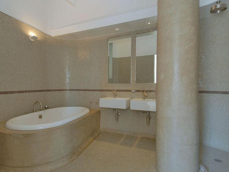 concrete bathroom luxury loft nyc soho Ridiculous Open Concept Luxury Loft in SoHo