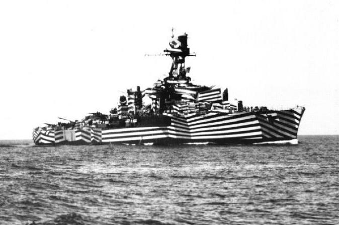 The History of Razzle Dazzle Camouflage