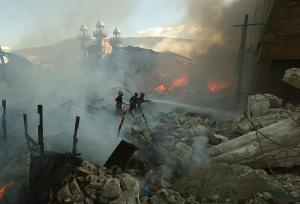 fires in port au prince haiti earthquake fires in port au prince haiti earthquake