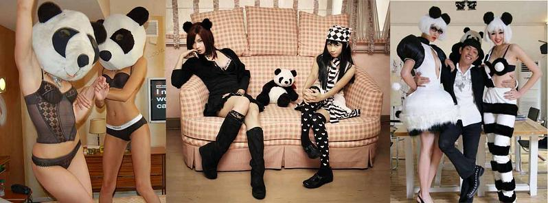 hot girls dressed as pandas 11 Reasons why the Bronze goes to... Pandas!