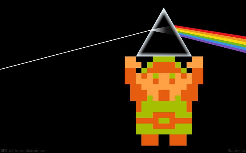 link floyd dark side of the moon and zelda Picture of the Day   February 23, 2010
