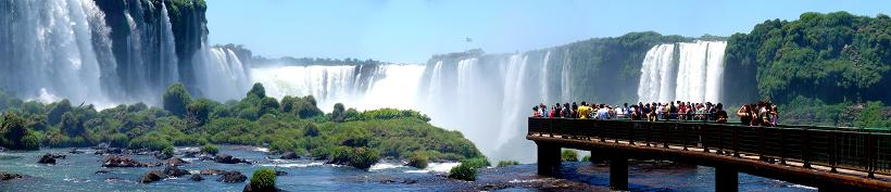 amazing waterfalls or brazil and argentina Iguazu Falls: 15 Amazing Pictures, 10 Incredible Facts