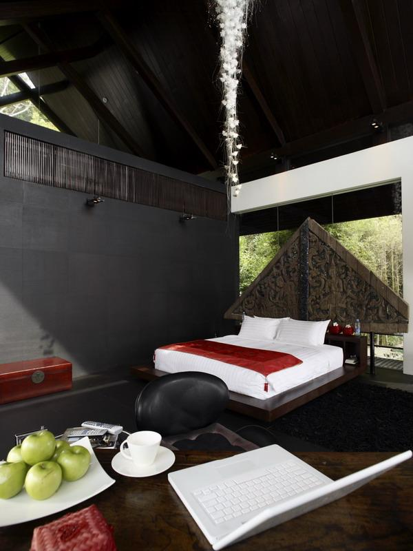 chic master bedroom phuket thailand What a Mansion in Thailand Looks Like