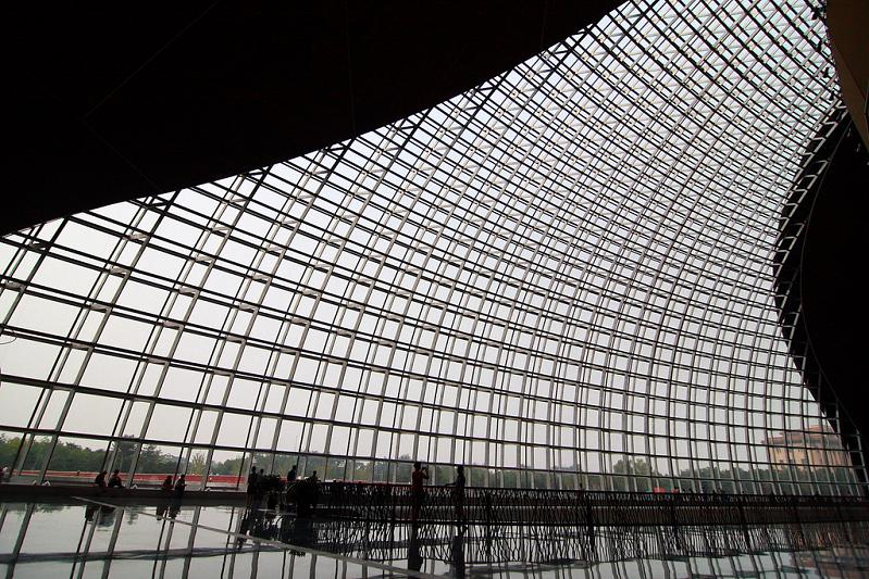 glass curtain walls ncpa beijing china The Egg Building in China   National Centre for Performing Arts