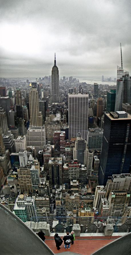 new york city vertical panoramic from top of rockefeller center Vertical Panoramic Photography: 15 Breathtaking Examples