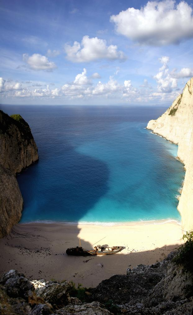 shipwreck beach zakynthos vertical panorama greece Vertical Panoramic Photography: 15 Breathtaking Examples