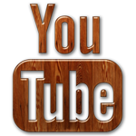 subscribe to youtube channel wooden icon subscribe to youtube channel wooden icon