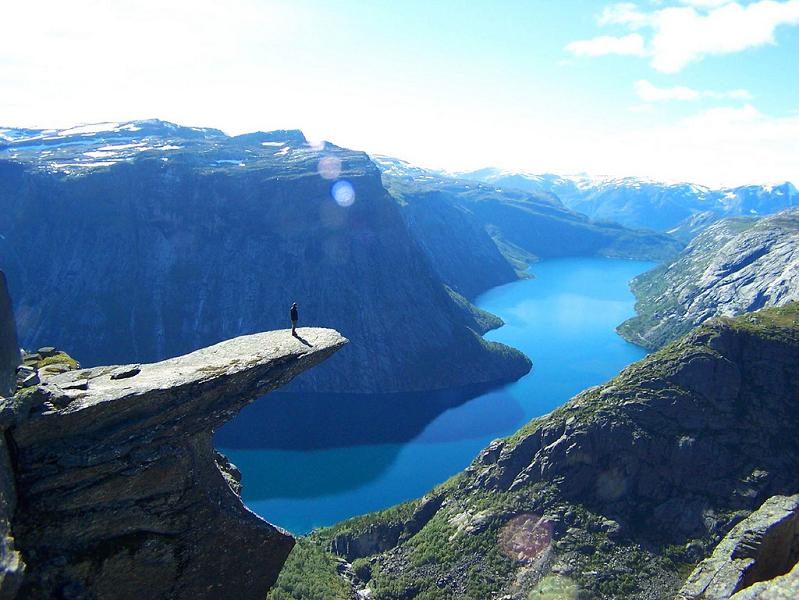 The Stunning Cliffs of Norway