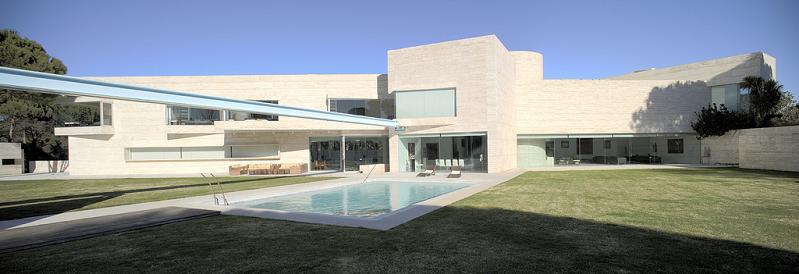 amazing house by a cero Mega Mansion in Madrid by A Cero