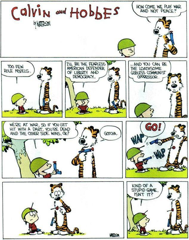 War and Peace [Comic Strip]