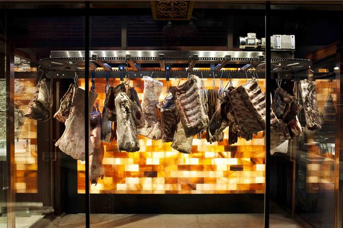 cool way to hang meat The Coolest Butcher Shop in Australia