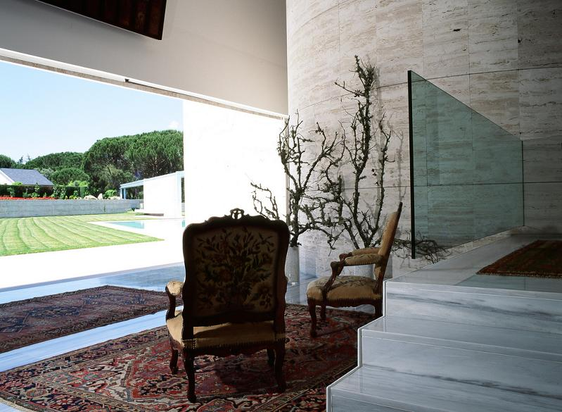 design by a cero Mega Mansion in Madrid by A Cero