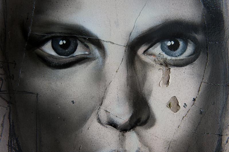 graffiti mural spraiy paint face best ever Awesome Street Art by Best Ever