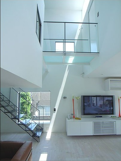 house in shirokane tokyo Want to See a Lamborghini in a Living Room?