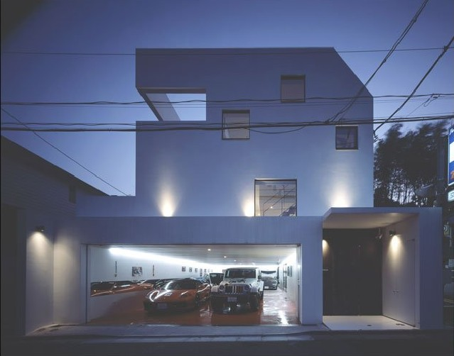 house with car in living room Want to See a Lamborghini in a Living Room?