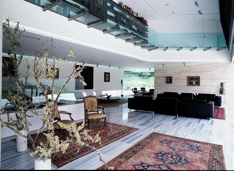 mansion in madrid by a cero Mega Mansion in Madrid by A Cero