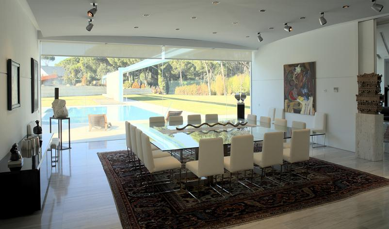 mansion in spain by a cero Mega Mansion in Madrid by A Cero