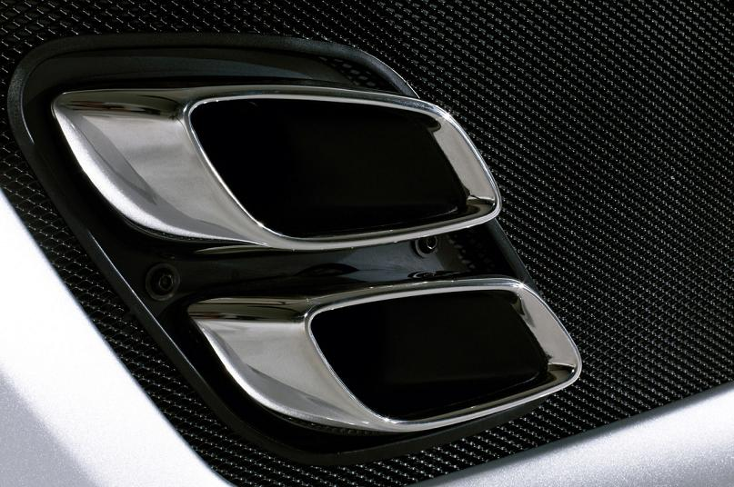 mercedes benz slr exhaust The Stirling Moss SLR