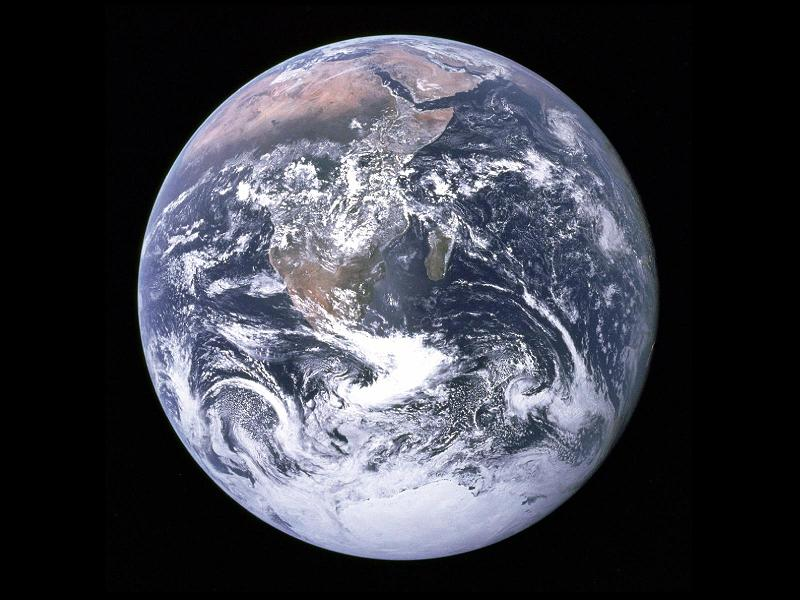 planet earth from space Picture of the Day   April 22, 2010