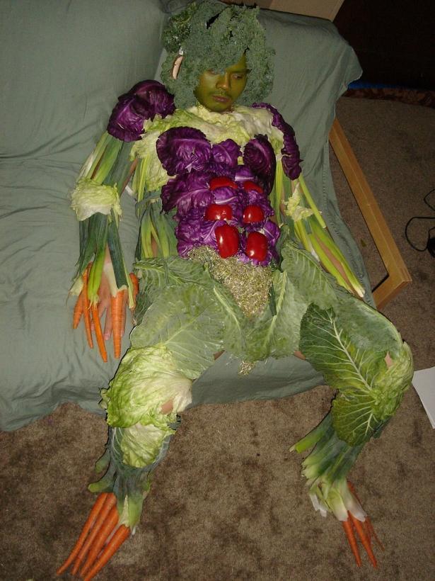 salad man dressed in vegetables The Friday Shirk Report   April 2, 2010 | Volume 51