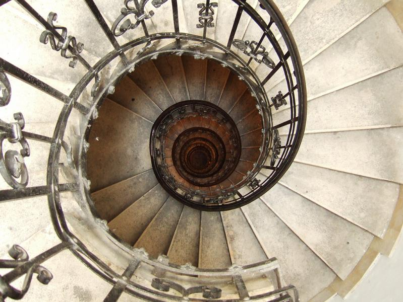 st stephens basilica budapest spiral staircase 25 Stunning Images of Spiral Staircases