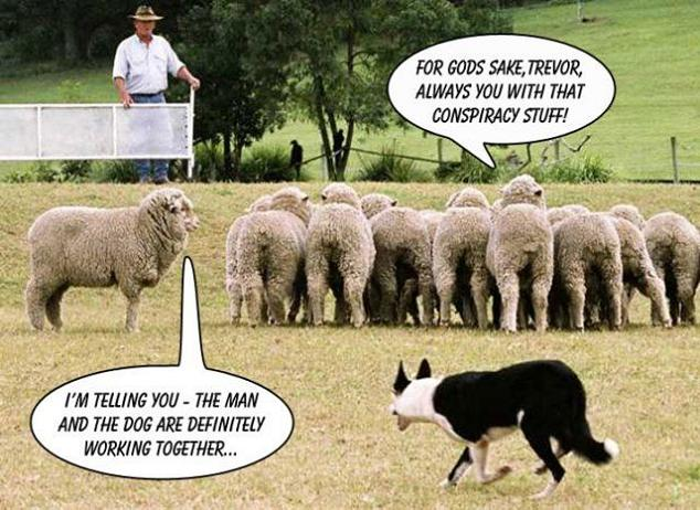 Conspiracy Theory [Comic Strip]