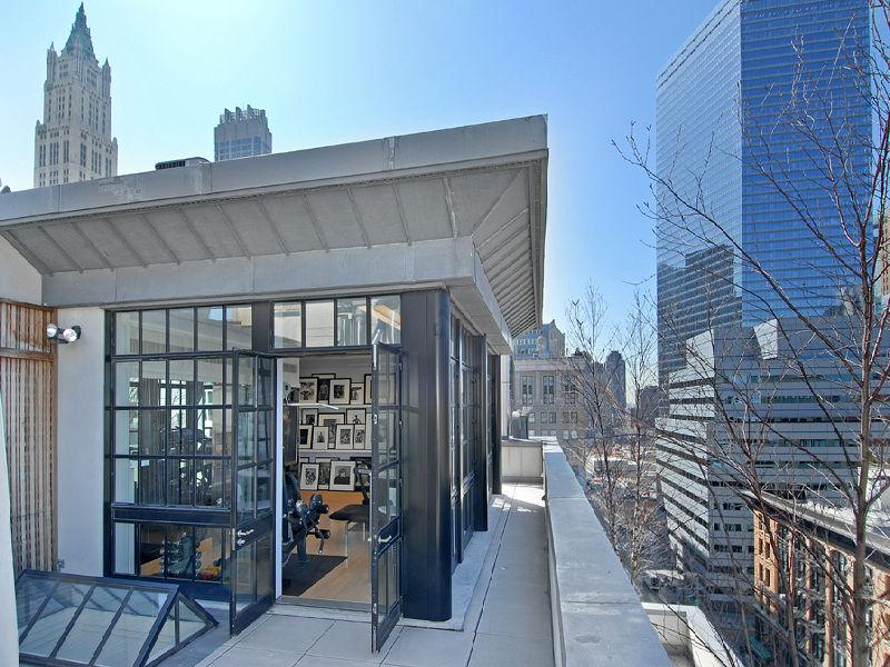 tribeca 28 million townhouse penthouse A Townhouse in the Sky