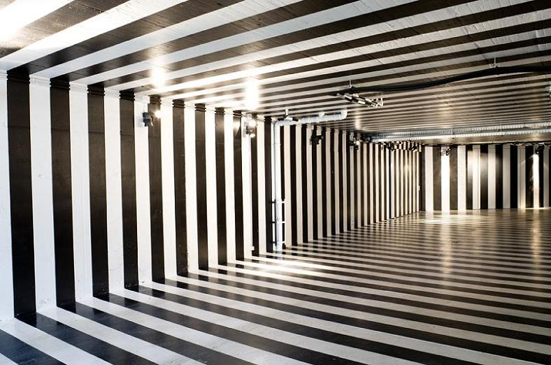 trippiest room ever Mega Mansion in Madrid by A Cero