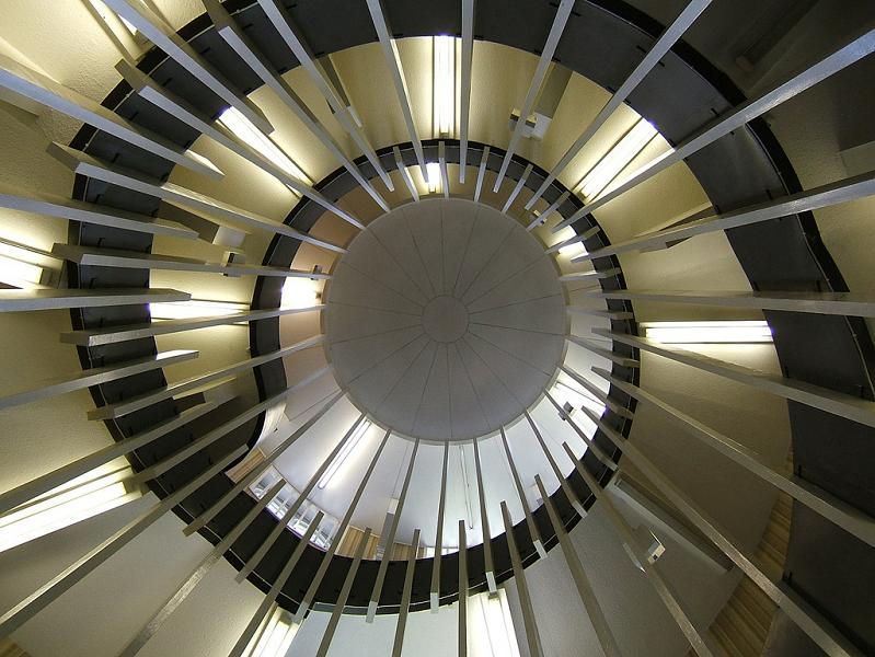 university-of-newscastle-armstrong-building-spiral