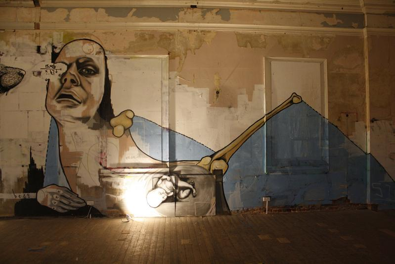 wall mural by best ever Awesome Street Art by Best Ever