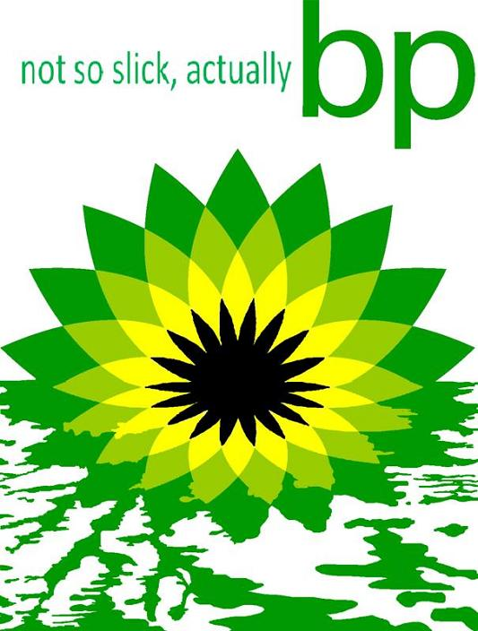 bp propaganda poster Rebranding the BP Logo: The 25 Funniest and Most Creative