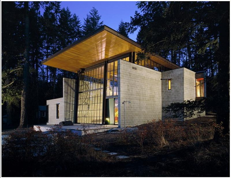 chicken point cabin olson kundig architects A Beautiful Bungalow Built Atop A Pond