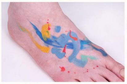 different kind of tattoo amanda wachob Abstract Ink: Tattoos With A Twist