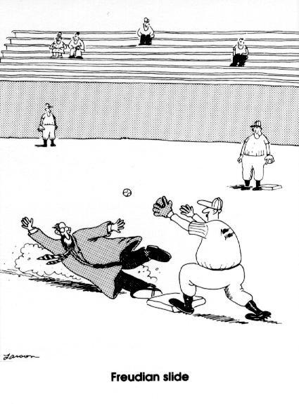 gary larson freudian slide funniest best farside comic Freudian Slide [Comic Strip]