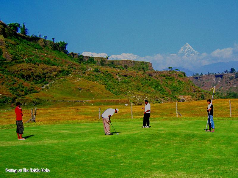 golf course in nepal The Most Exotic Golf Course in the World
