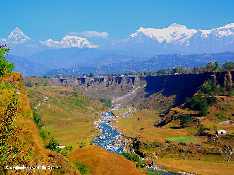 golf course in the himalayas The Most Exotic Golf Course in the World