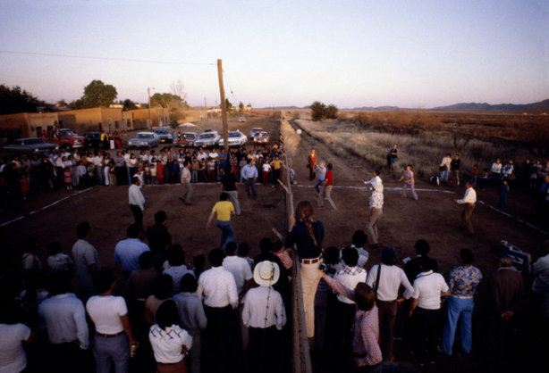 playing volleyball with us mexico border 1979 international friend day Picture of the Day   Volleyball Will Save Us