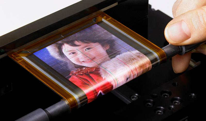 sony rollable otft driven oled Hey Sony, Forget 3DTV I Want This!