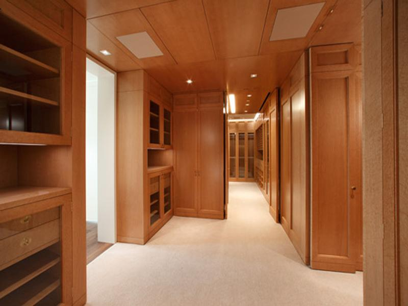 biggest walk in closet ever The Craziest Penthouse in San Francisco