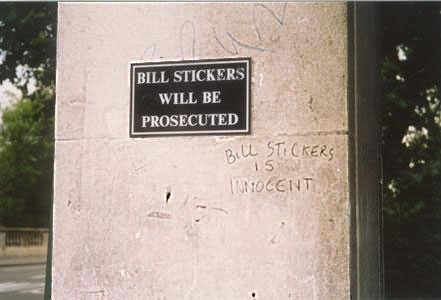 bill stickers is innocent The Friday Shirk Report   June 4, 2010 | Volume 60