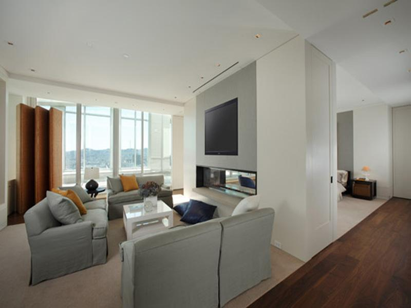 gigantic master bedroom The Craziest Penthouse in San Francisco